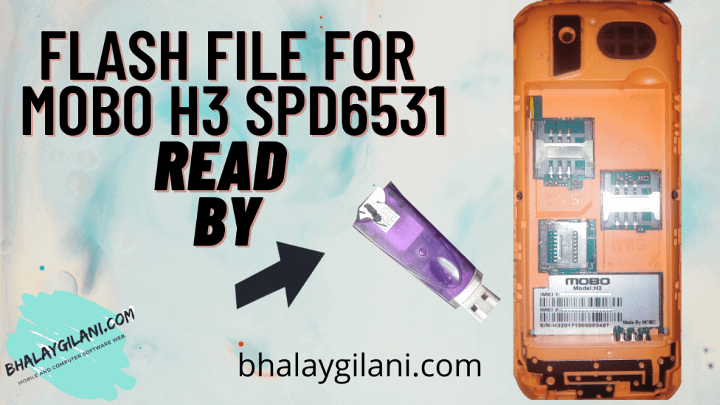 Flash file for MOBO H3 Spd6531