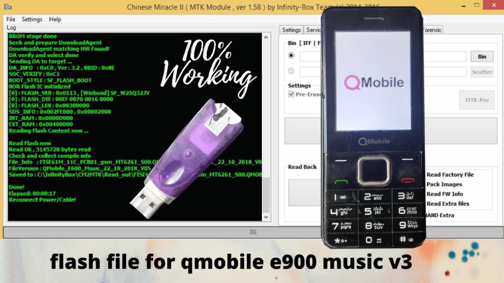 FLASH FILE FOR QMOBILE E900 MUSIC V3