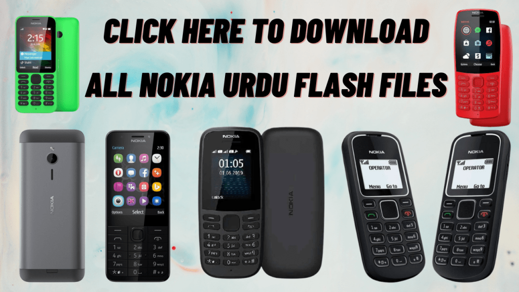 ALL NOKIA URDU FLASH FILES