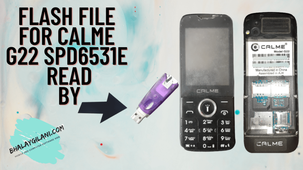 FLASH FILE FOR CALME G22 SPD6531E