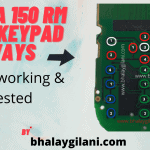 Nokia 150 RM 1190 keypad ways