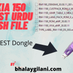 NOKIA 150 RM-1190 LATEST URDU FLASH FILE
